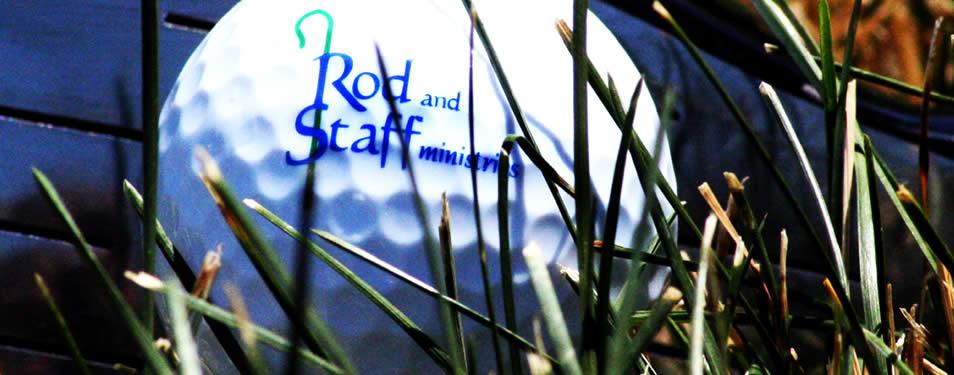 Rod and Staff Golf Ball