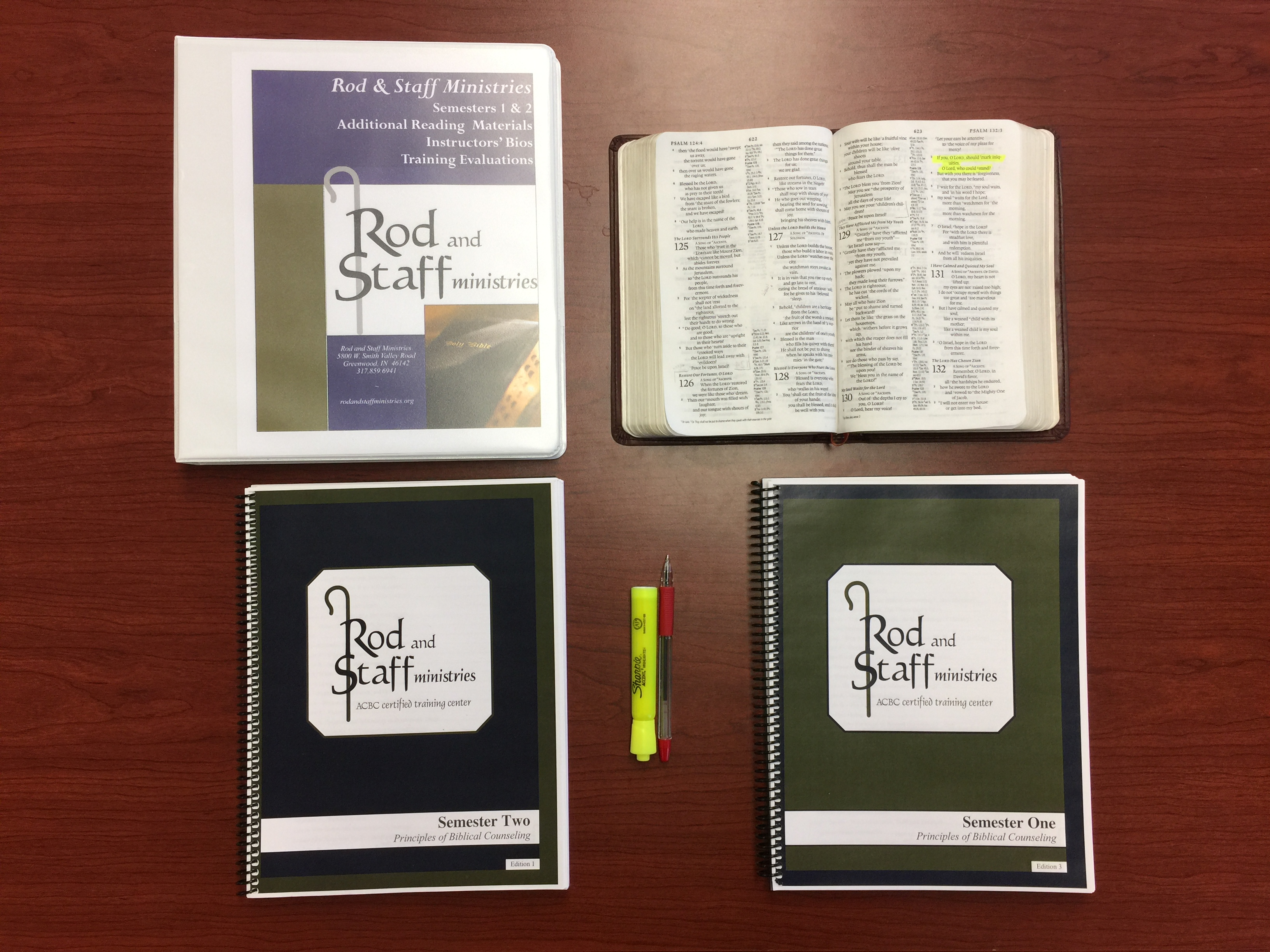 Rod and Staff Ministries Training Manuals