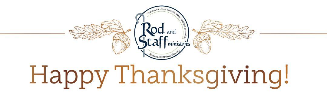Happy Thanksgiving, Beloved!